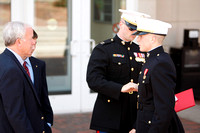 Tyler Folan Marines Induction